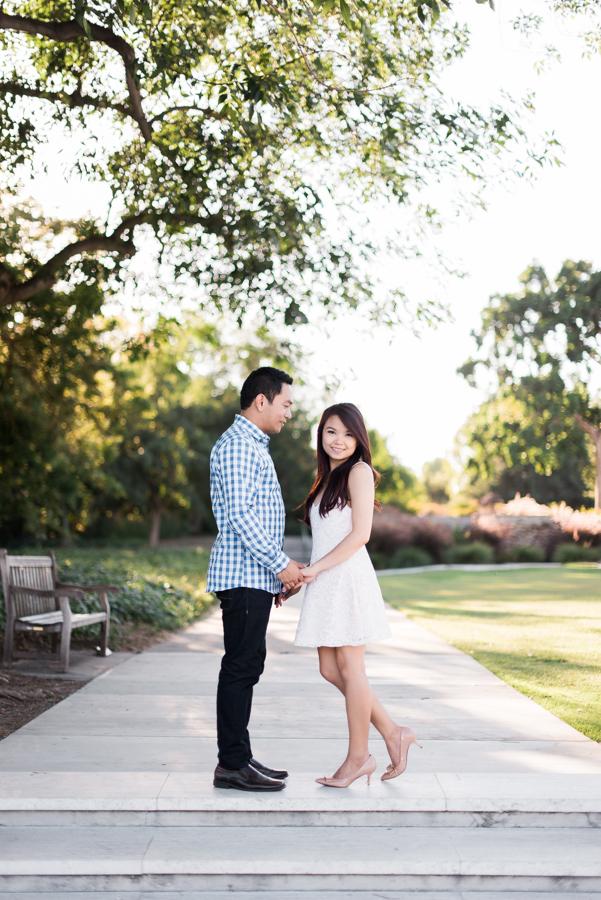 Los Angeles County Arboretum and Botanic Garden Engagement Photographer