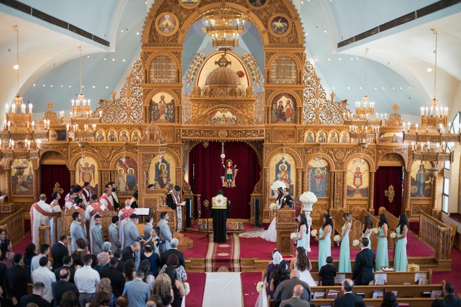 St. Mina Coptic Orthodox Church and Eagle Glenn Golf Club Corona Wedding Photographer